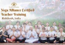 best yoga teacher training in Rishikesh