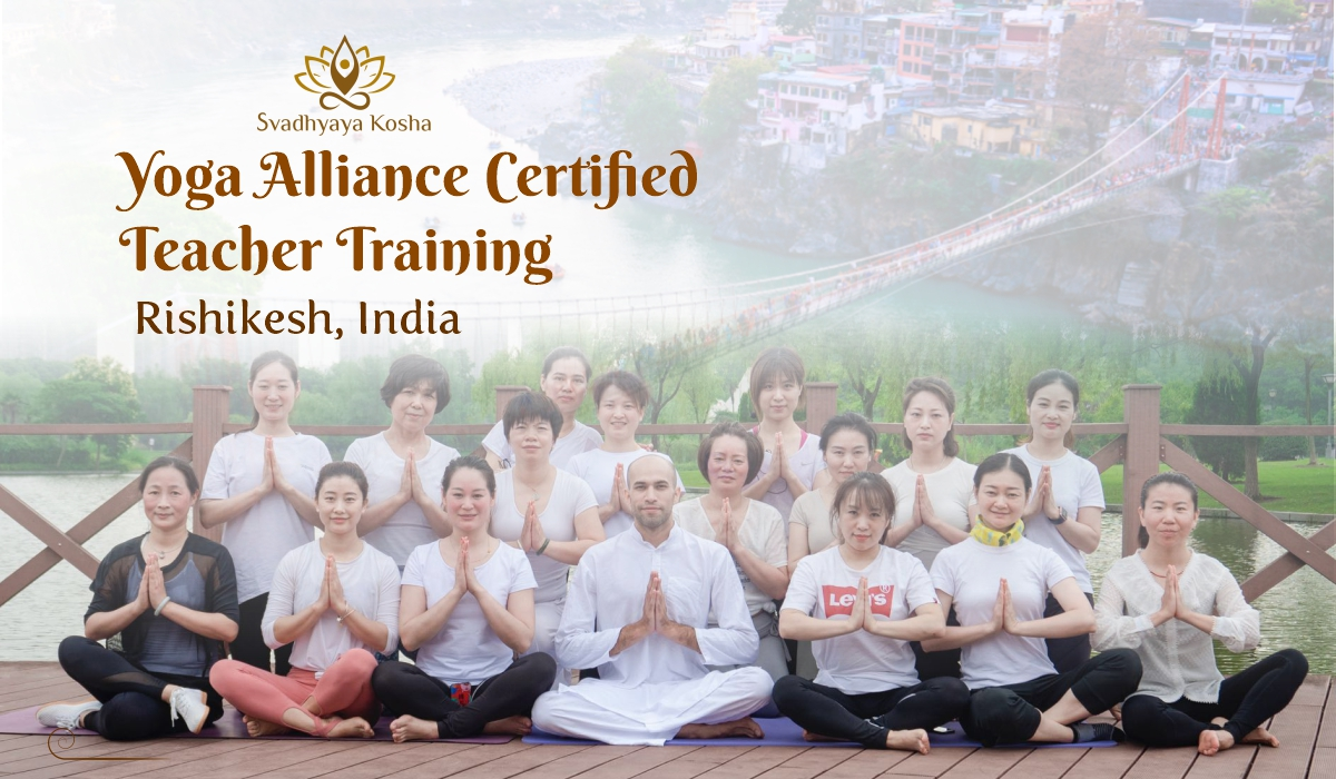 best yoga teacher training in Rishikesh