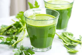 Juice And Green Vegetable