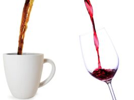 Coffee and Red Wine