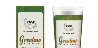 Grealmo green tea facewash