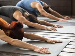 Yoga Pose For glowing skin