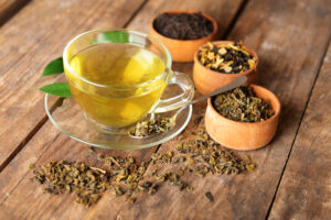 Herbal Medicines in the Cup and three pots