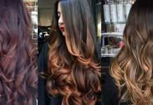 Clip in Colored Hair Streaks to Fake Highlights