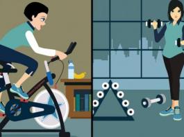 gym vs home
