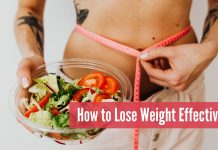 How to Lose Weight Effectively