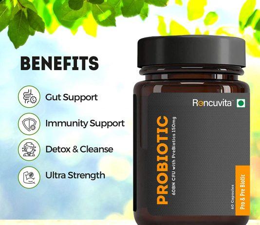 prebiotic and probiotic capsules uses