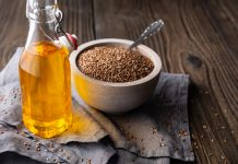 flax seed and flaxseed oil